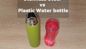 Stainless Steel vs Plastic Water bottle