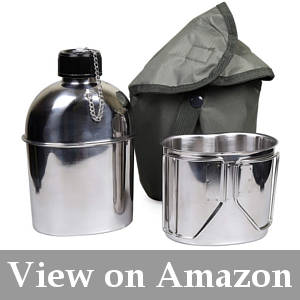 water bottle for camping
